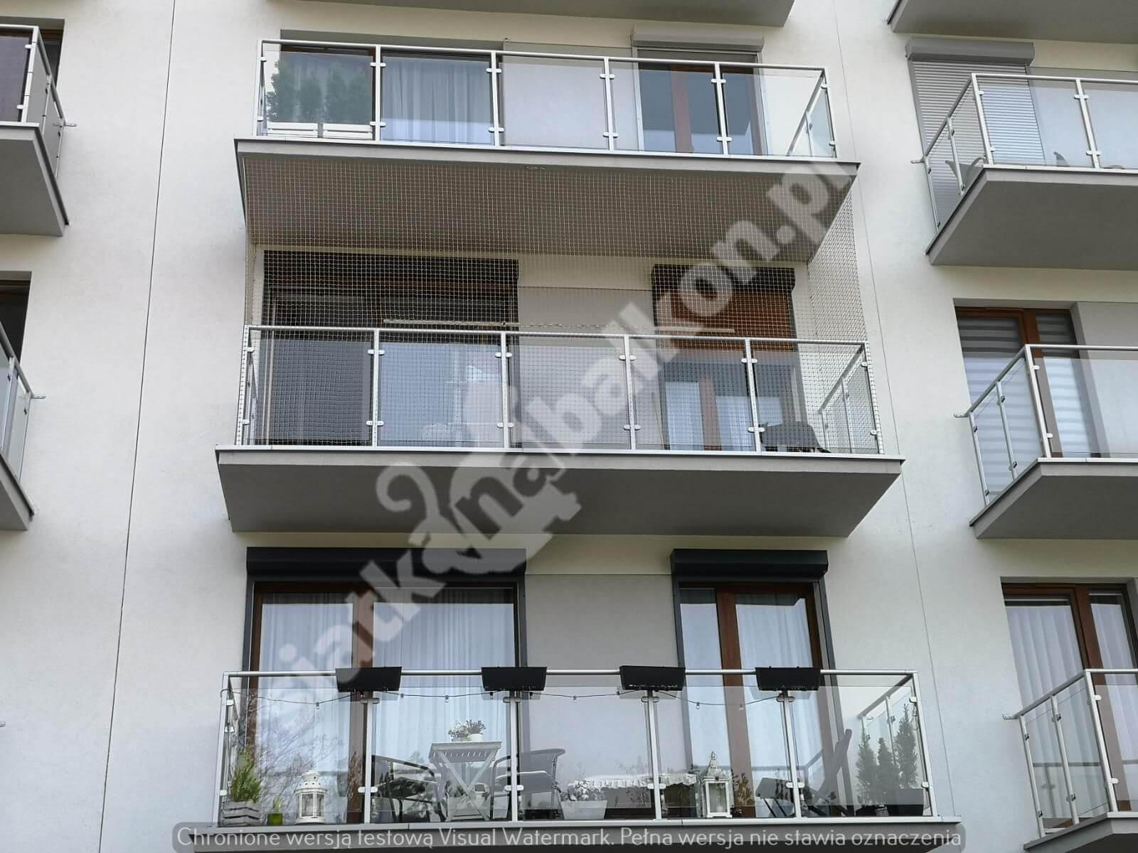 siatka na balkon 2
